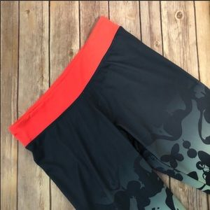 NWOT Adidas climalite workout leggings butterfly